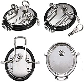 304 stainless steel Cornelius Keg Lid New Replacement Corny Keg (Soda Keg) Lid with New O-ring for Cornelius or Firestone Kegs for homebrew beer kegging