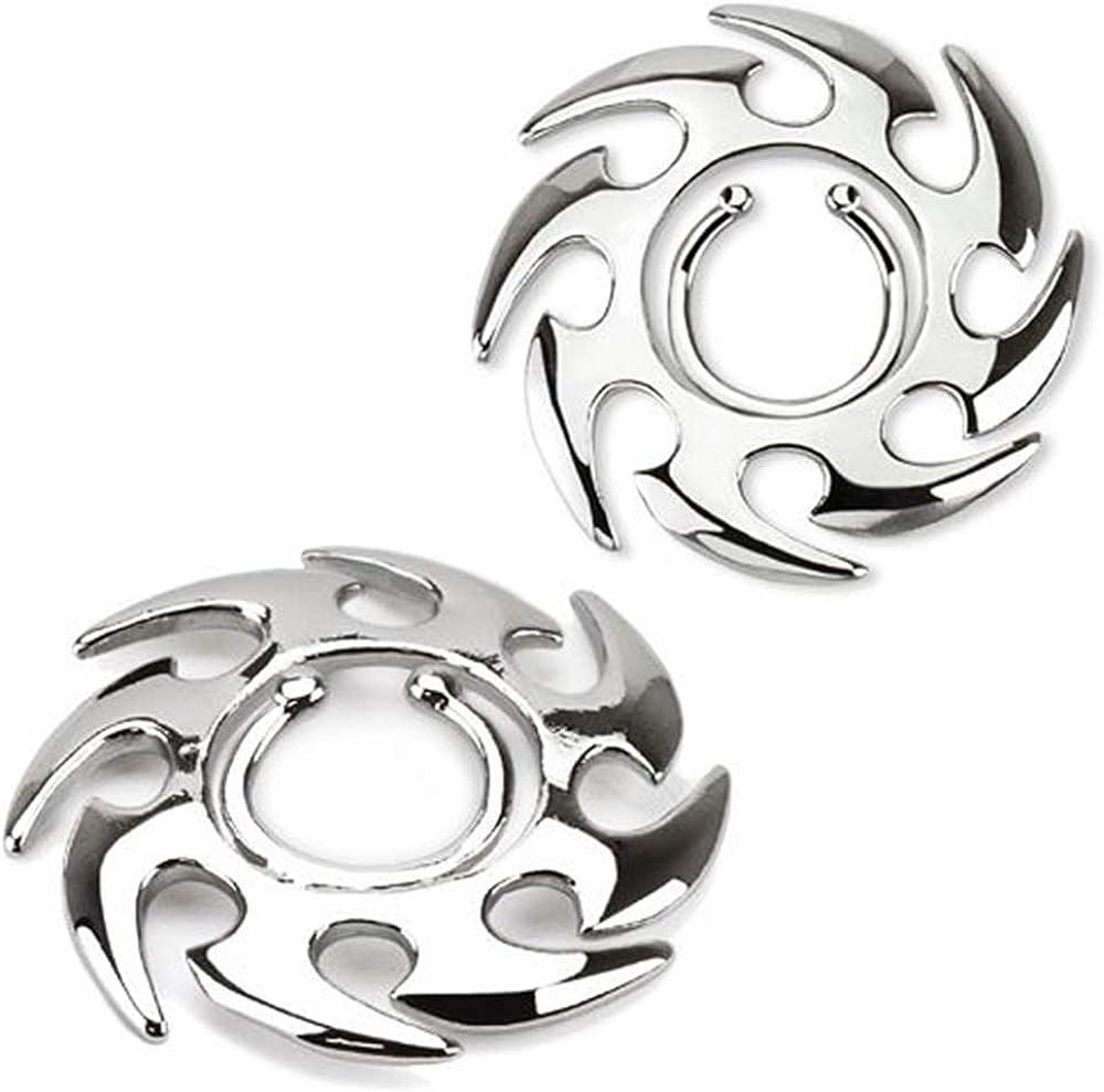 BodyJewelryOnline Tribal Design Non-Piercing Nipple Clip-Sold in Pairs!-kx004