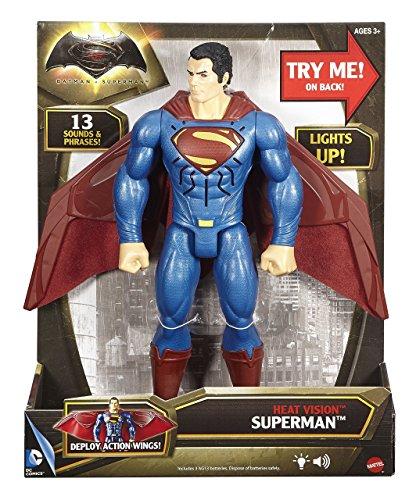 "Batman v Superman: Heat Vision Superman Deluxe Figure, 12"""