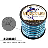 Best Braided Lines - HERCULES Super Cast 1000M 1094 Yards Braided Fishing Review