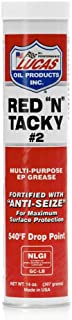 Lucas Oil 10005-30 Red N Tacky Grease, 14 Oz. (Pack of 10)