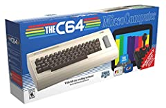 The games carousel has 64 pre-installed games including classics such as California games, paradroid and Boulder Dash, with new additions (including Vic20 games and more) available as a release day online firmware update. Connect to a 720p TV or moni...