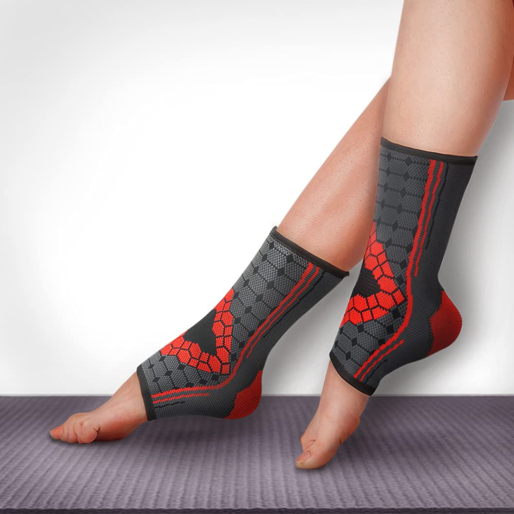 Ankle Tampa Mall Compression Sleeve Pair Achilles for Brace W Tendonitis Minneapolis Mall