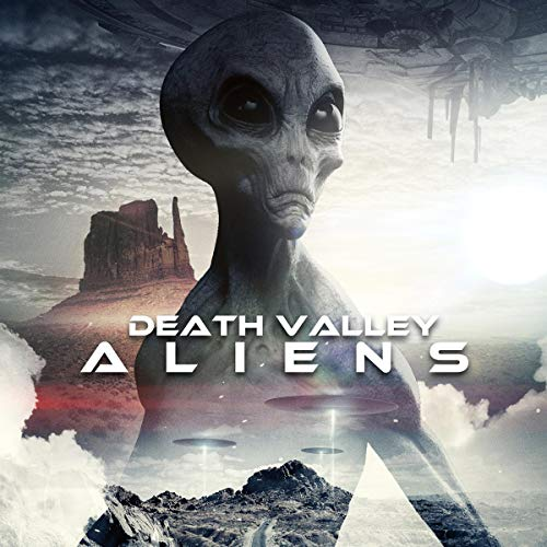 Death Valley Aliens audiobook cover art