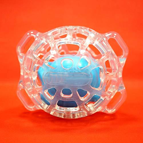 AA-Pet Food Ball Balle de Jouet pour Chien de Compagnie Jouet de butinage Balle de Jouet Souple et Flexible flottable / 14.9x12.2cm