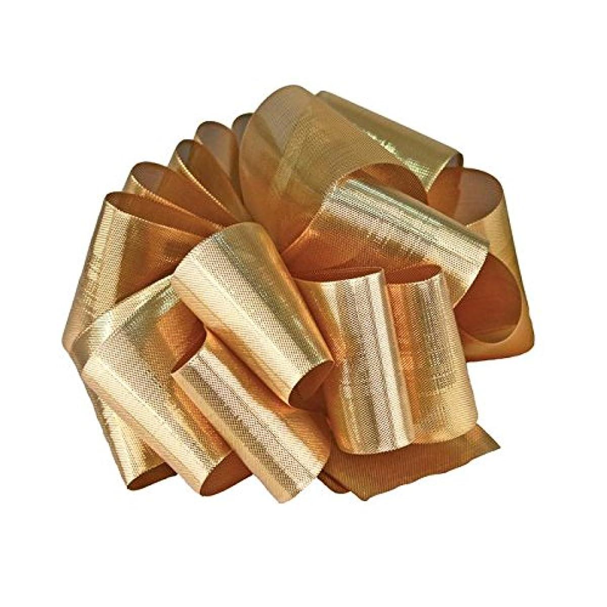 Berwick Offray Metalique Ribbon-1-1/2 Wide X 25 Yards Ribbon Gold