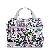 Vera Bradley Women's Lighten Up Lunch Cooler Lunch Bag, Lavender Botanical