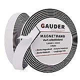 GAUDER Nastro Magnetico Autoadesivo | Extra Forte Adesivo | Banda Magnetica | Striscia Cal...