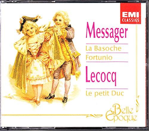Messager: La Basoche / Fortunio - Lecocq: Le Petit Duc