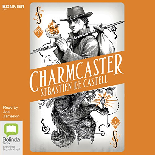 Charmcaster audiobook cover art