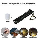 Best Aaa Flashlights - K3 Mini Keychain AAA flashlight,multipurpose as caplight camplight Review