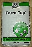 Hierro Top® Abono para céspedes y plantas acidofile de efecto rinverdente, antimuschio saco de 25 kilogramos