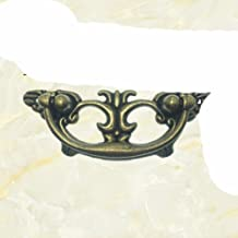 1pc Klassieke stijl Brons Antieke Stijl Kast Kledingkast Lade Handvat-Blauw