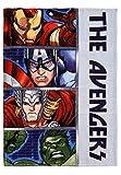 yuhu Avengers Coral Fleece Kuscheldecke Tagesdecke Ironman Hulk Thor Captain America