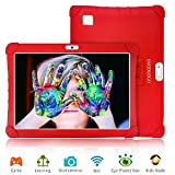 Tablette Tactile 10 Pouces 3Go RAM 32Go/128Go ROM Android 9.0 Pie Certifié par Google GMS Tablette Enfant Batterie 8500mAh 4G Call Quad Core Tablette Dual SIM Caméra Tablet PC Netflix WiFi OTG(Rouge)