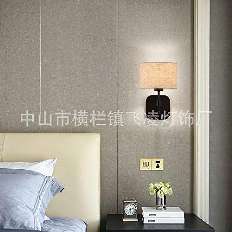 Reeseiy Wandlampe Wandleuchten Minimalistischen Modernen Wohnzimmer Und Hotel Bett Wand Leuchten 1 Wandleuchte Retro Minimalistisch (Farbe   Colour-Größe)