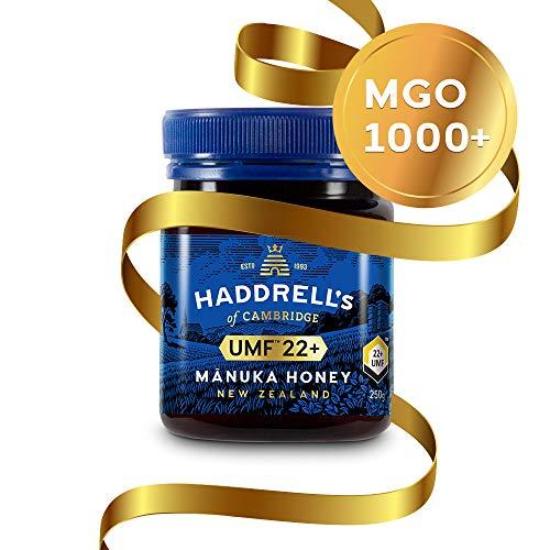 Haddrell's Manuka Honig MGO 1000+ (UMF 22+) 1 x 250 g - Limited Edition