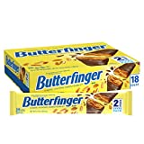 BUTTERFINGER BARS: Each Butterfinger Share Pack contains 2 candy bars CRISPETY & CRUNCHETY: One-of-a-kind crispety, crunchety, peanut-buttery texture & taste people love. UNIQUE FLAVOR: Contains roasted peanuts and flaky peanut-buttery center, covere...