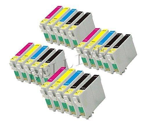 20 Cartucce compatibili per Stampante EPSON T1281 T1282 T1283 T1284 Stylus Office BX305F / Stylus S22 / Stylus SX125 / Stylus SX420W / Stylus SX425W