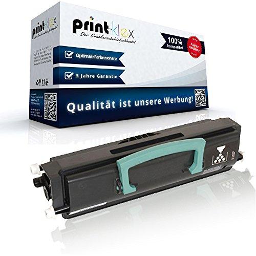 Print-Klex - Cartucho de tóner compatible con Dell 1720 1720dn 1720n 1720Series 593-10239 59310239 RP380 RP 380 593-10240 GR 299 GR299, color negro