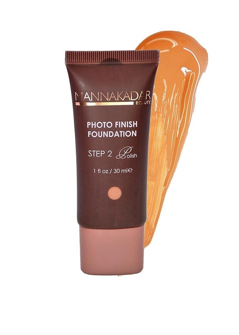 肺炎振動する醸造所Manna Kadar Cosmetics フォトフィニッシュ財団C6 - 完璧なタン