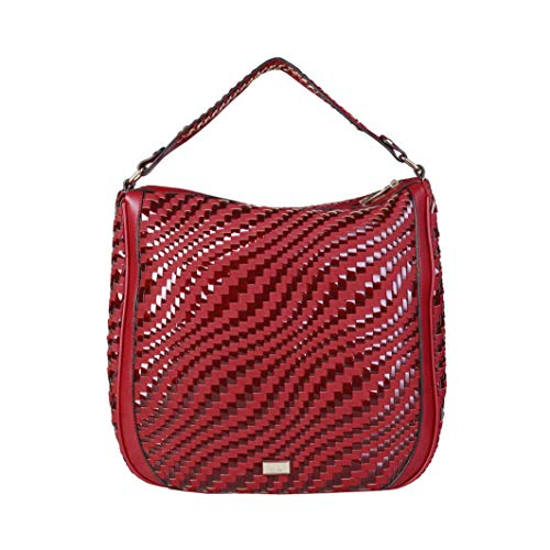 Roberto Cavalli C41PWCBU0022, Bolso de mano para Mujer, Red, handbag