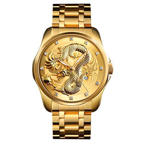 reloj dorado fabricante Letdown Watch