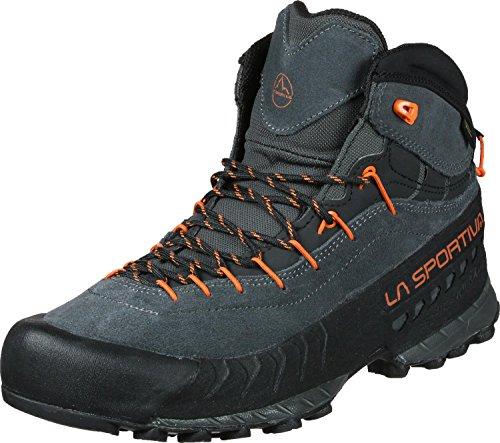 LA SPORTIVA Herren TX4 Mid GTX Schuhe, Carbon-Flame, EU 44