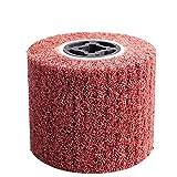 Disco De Alambre Para Amoladora,Cepillo Alambre Rueda de pulido de alambre de alambre de alambre abrasivo no tejido para el tratamiento de la superficie de los productos metálicos (Color : B)