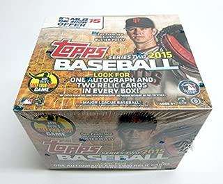 2015 Topps Baseball Series 2 Jumbo Box (Hobby)