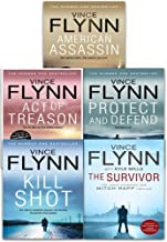 Vince Flynn Mitch Rapp 5 Books Collection Pack Set