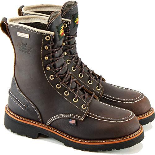 "Thorogood Men's 814-4141 1957 Series Flyaway USA 8"" Waterproof Hunting Boot, Briar Pitstop - 9.5 M"