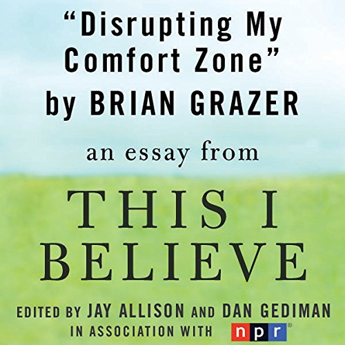 Disrupting My Comfort Zone audiobook cover art