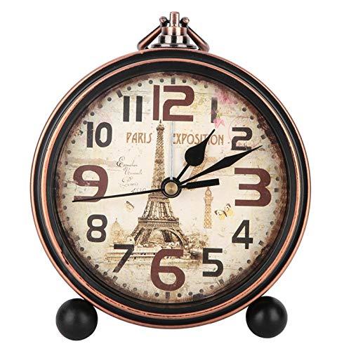 Viccilley Jershal Decor Despertadores - Despertador de Mesa de Noche Vintage Accesorios de decoración del hogar