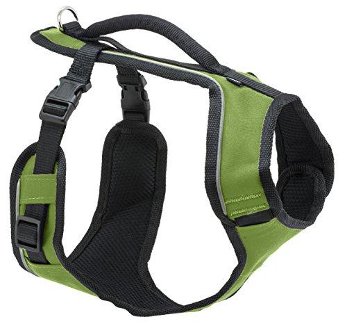 PetSafe Easy Sport Hundegeschirr XS grün, extra, Reflektoren, Geschirrgriff, für sehr kleine Hunde