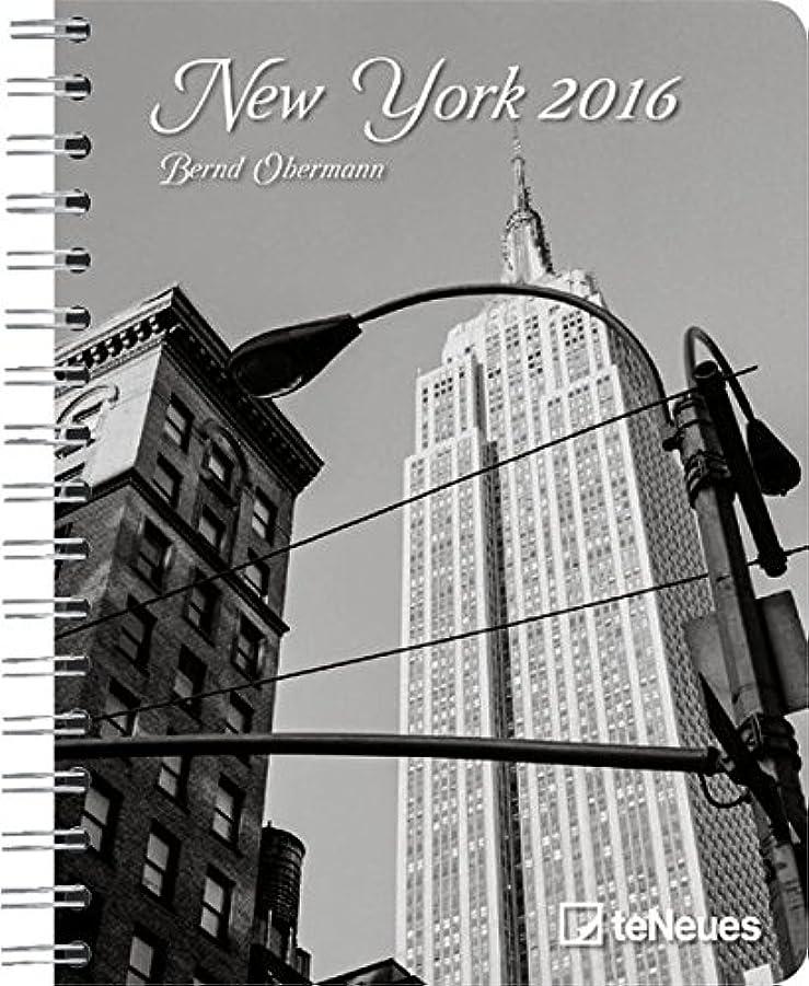 どこか篭持続的New York 2016 Buchkalender/Diary Deluxe