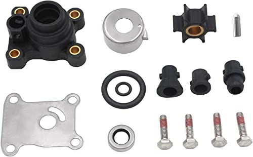 high quality Impeller popular Water Pump Repair Kits with Housing online for Johnson Evinrude 1974-UP 8-15HP 18-3327,394711,0394711,386697,391698,389112,387610 outlet sale