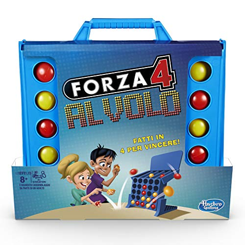 Hasbro Gaming - Forza 4 Al Volo, Gioco in Scatola