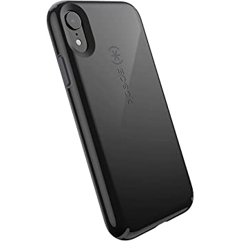 Speck Products CandyShell iPhone XR Case, Black/Slate Grey