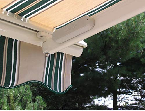 SunSetter Wireless Wind Sensor, Perfect for All SunSetter Motorized Awnings, Automatically Closes Awning in Windy Days, You set the sensitivity, Battery powered, Simple to install, Easy to use.
