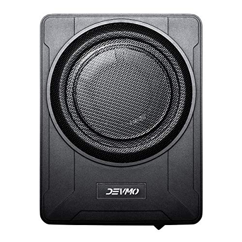 Devmo GELF 10' Compact Enclosed Powered Enclosed Subwoofer for CAR Under seat
