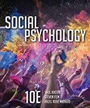 social psychology 10th edition