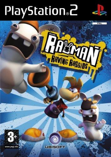 Ubisoft Rayman Raving Rabbids, PS2
