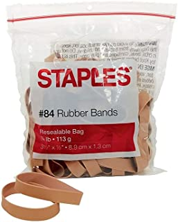 Staples 831636 Economy Rubber Bands Size #84