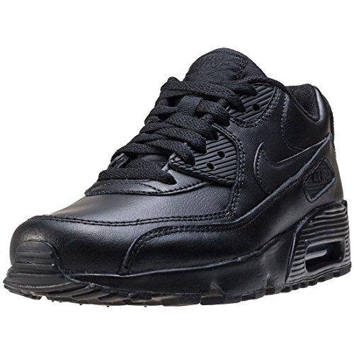 Nike Air Max 90 Ltr (Gs), Scarpe da Trail Running Bambino, Nero (Black/Black 001), 40 EU