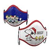 Set de dos mascarillas Snoopy navidad talla adulto