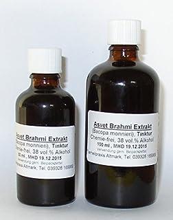 Asvet 100ml Brahmi Tropfen, Tinktur, Extrakt, Konzentrat
