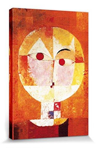 1art1 Paul Klee - Senecio, 1922 Bilder Leinwand-Bild Auf Keilrahmen | XXL-Wandbild Poster Kunstdruck Als Leinwandbild 120 x 80 cm