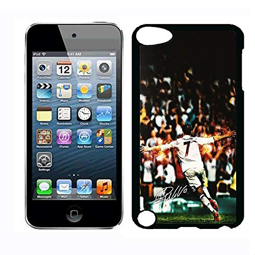 YBSJK Ronaldo in Juventus Portugal Team Custom Phone Shell Case for iPod Touch 5th iPod Touch 6th Shell Case,PC Material Hard Shell Case