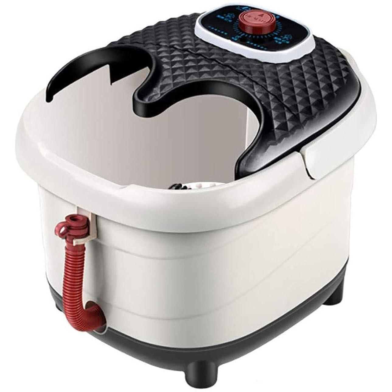 民兵列挙するはがき全自動暖房フットバスマッサージ足湯はすべて一つのホームではディープバレルホームサーモスタットフットマッサージ機バブル水ウェットフットスパマッサージを浸します YHLZ